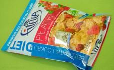Płatki z pełnego ziarna pszenicy z malinami i żurawiną Fitella Diet