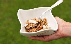 Porcja płatków Fitness yoghurt