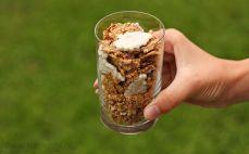 Szklanka płatków Fitness yoghurt