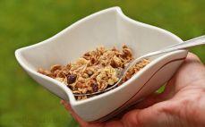 Porcja musli cappuccino & granola