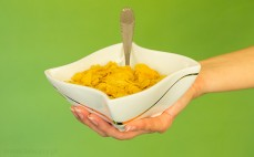 Porcja płatków kukurydzianych bez dodatku cukru