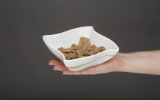 Porcja płatków żytnich pełnoziarnistych z białkiem grochowym