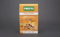 Płatki żytnie pełnoziarniste z białkiem grochowym