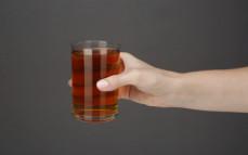 Szklanka herbaty kukurydzianej Popcorn Tea