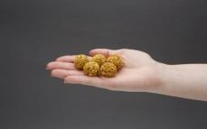 5 kulek kokosowych z komosą i przyprawami orientalnymi