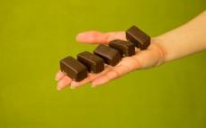 5 kostek czekoladowego ptasiego mleczka