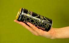 Porcja napoju energetyzującego Rockstar