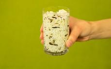 Szklanka ugotowanego ryżu dzikiego i parboiled