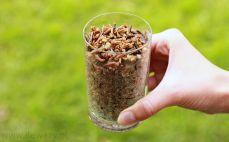 Szklanka ugotowanego ryżu dzikiego