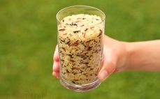 Szklanka ryżu Tricolo