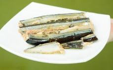 Porcja sajry w oleju