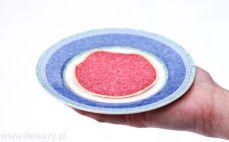 Plaster salami z parmezanem