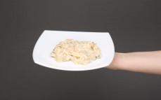 Porcja sałatki grzybowej