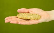 Ciasteczko jęczmienne z chia i konopią Cookies