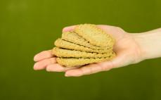 5 ciasteczek zbożowych z masłem klarowanym Ghee Cookies