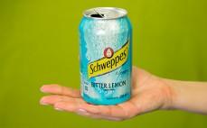 Porcja napoju Schweppes Bitter Lemon
