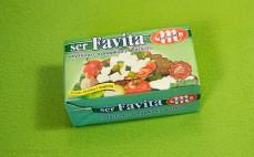 Ser miękki solankowy półtłusty Favita