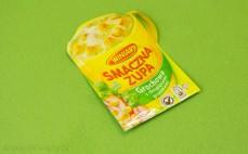 Zupa grochowa z grzankami
