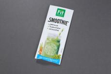 Smoothie, koktajl owocowo-warzywny w proszku z jarmużu, marchwi i chlorelli Fit Mania