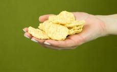 Garść pełnoziarnistych snacków błonnikowych 7 warzyw