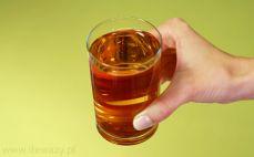 Szklanka soku gruszkowego
