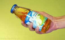 Porcja soku gruszkowego