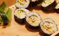 Sushi z krewetkami