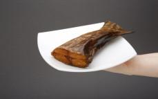 Porcja szczupaka wędzonego