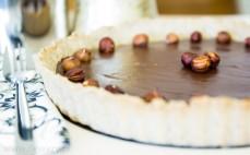 Tarta czekoladowa z kremem kasztanowym