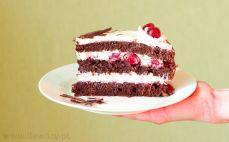 Kawałek tortu Szwarcwaldzkiego