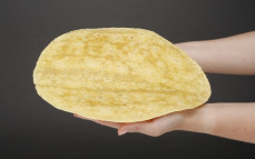 Tortilla pszenna, curry
