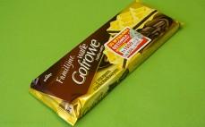 Wafle gofrowe z musem czekoladowym