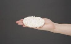 Wafel ryżowy z ryżem jaśminowym i kokosem