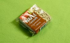 Wafle ryżowe z cynamonem i stewią
