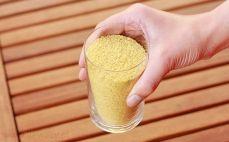 Szklanka zarodków pszennych