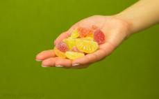Garść kwaśnych, owocowych Śmiejżelków nimm2