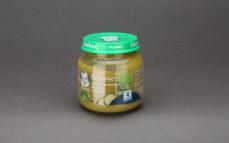 Zielony groszek, brokuły, cukinia organic