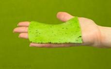 Plaster sera Gouda zielone pesto
