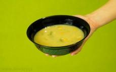 Porcja zupy jarzynowej z mięsem wieprzowym Profi