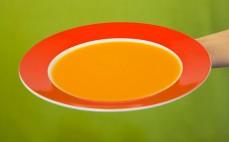 Porcja zupy krem jarzynowej Hortex
