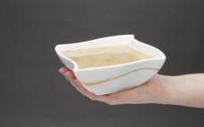 Porcja zupy krupnik