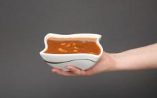 Porcja zupy meksykańskiej