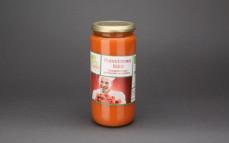 Ekologiczna zupa pomidorowa ze śmietaną
