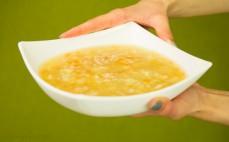 Zupa ryżowa na rosole z kurczakiem