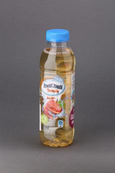 Żywiec Zdrój soczysty. Napój niegazowany z sokiem jabłkowym.
