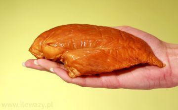 Ile waży Wędzona pierś z kurczaka - sprawdź kalorie i wagę..