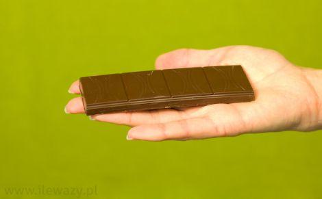 Baton Danusia z nadzieniem czekoladowo orzechowym
