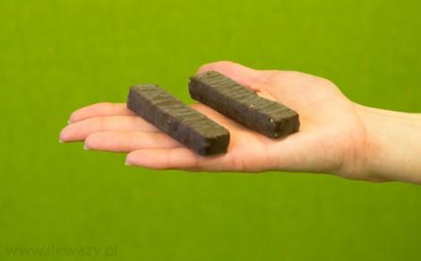 Baton sojowy w polewie czekoladowej