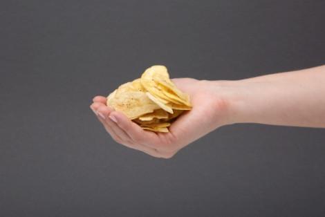 Chipsy z bananów o smaku soli morskiej Banana Joe