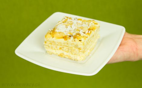 Ciasto raffaello na krakersach